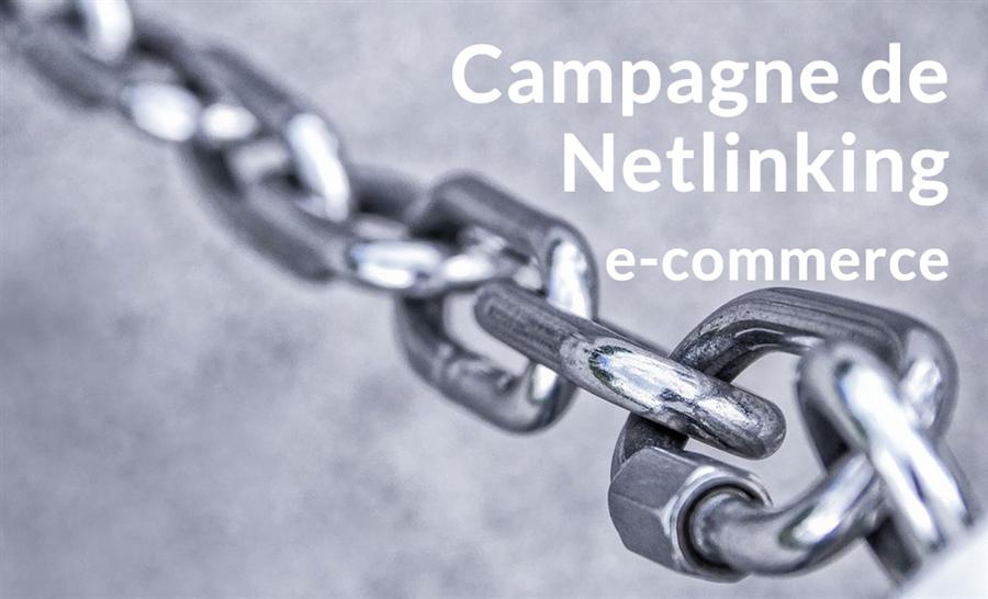 Campagne netlinking : améliorer le seo d'un site e-commerce